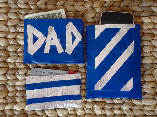 Duck Tape Gifts for Dad | by VickieHowell