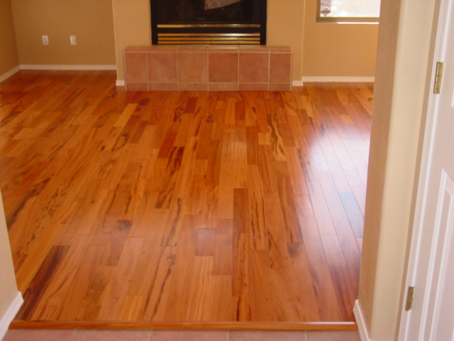 Tigerwood hardwood floor 1400 sf armstrong hartco for Tigerwood hardwood flooring