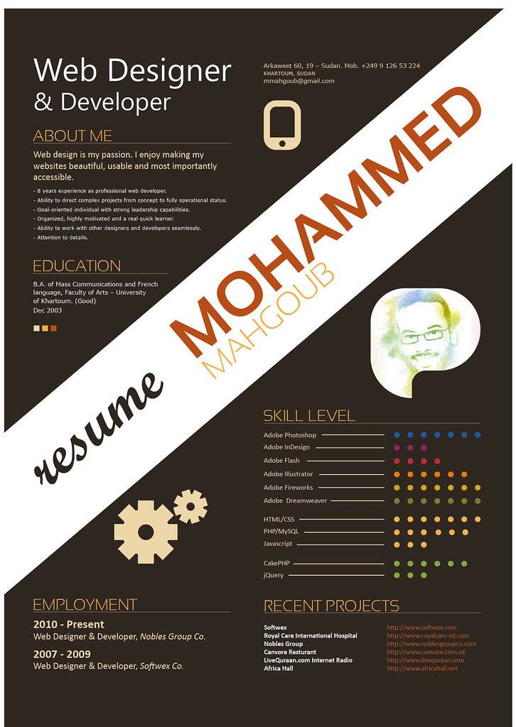 my resume by mmahgoub my resume by mmahgoub