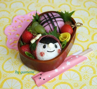 yum-yum riding hood bento | by gamene