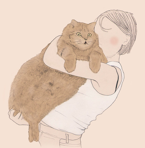 Fat ass cat | by lauralink88
