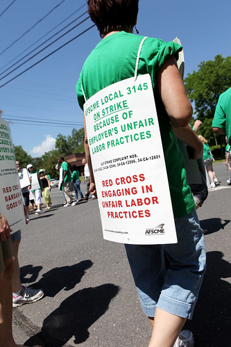 Red Cross Workers Strike | by WNPR - Connecticut Public Radio