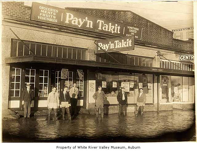 Pay'n Takit Store in Flood, Kent, ca. 1931 | Description ...