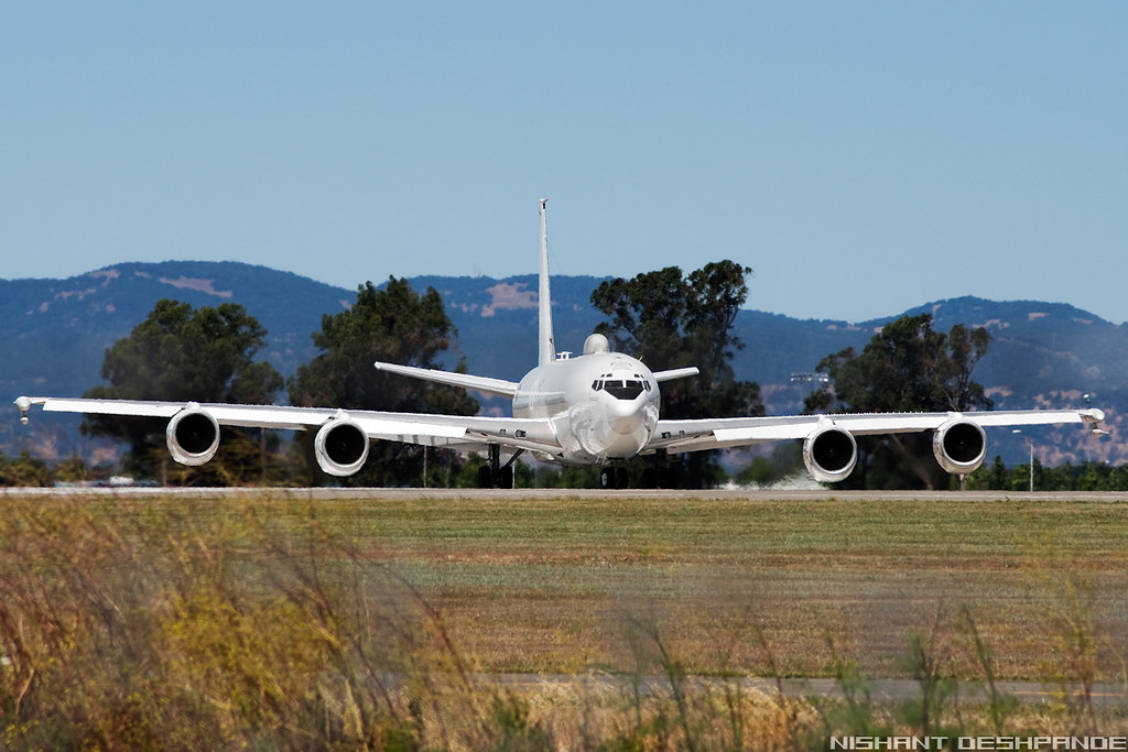 Usa Navy Boeing E 6b Mercury 707 300 162783