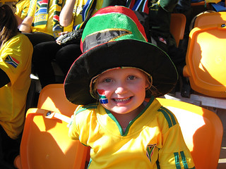 Young Bafana supporter | by flowcomm