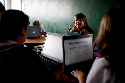 A technical education class specializing in business administration | by World Bank Photo Collection