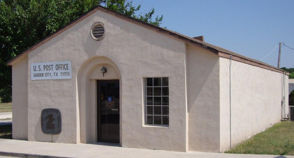 Post Office 79739 Garden City Texas Garden City Is An U Flickr