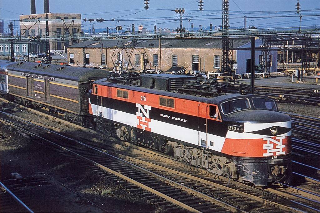 New Haven Railroad General Electric Ep 5 Electric Passenge