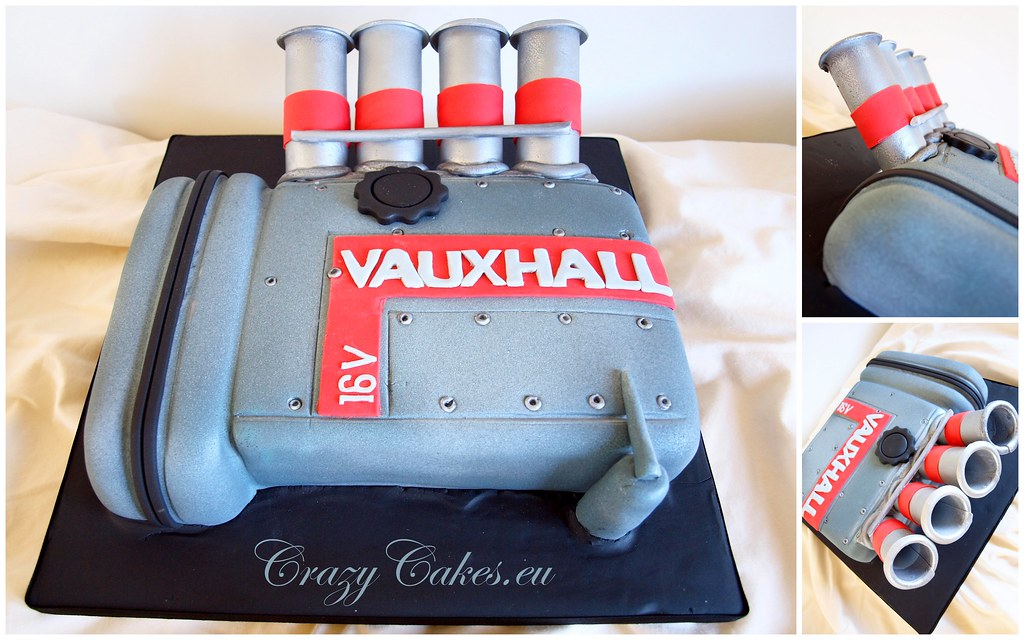 Car Engine Cake This is why I love making cakes one minut Flickr