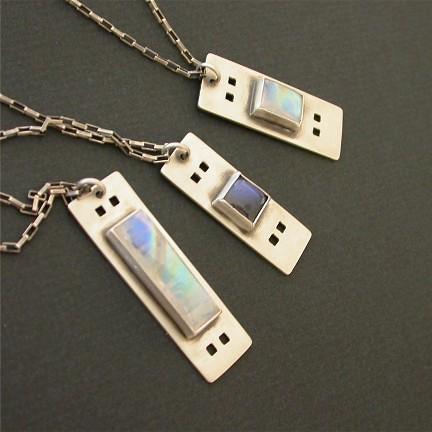 Rectangular pendants theresa flickr rectangular pendants by tkmetalarts rectangular pendants by tkmetalarts aloadofball Image collections