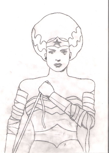 Wonder Woman The Bride Of 4