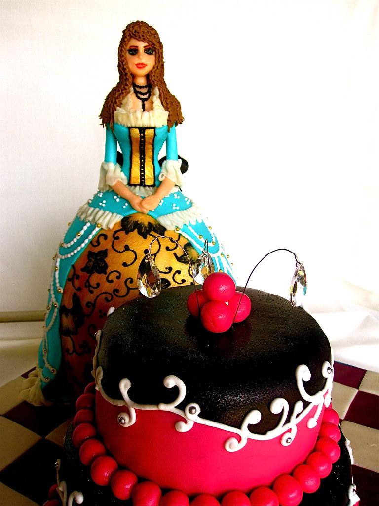 Doll Skirt Cake Pan