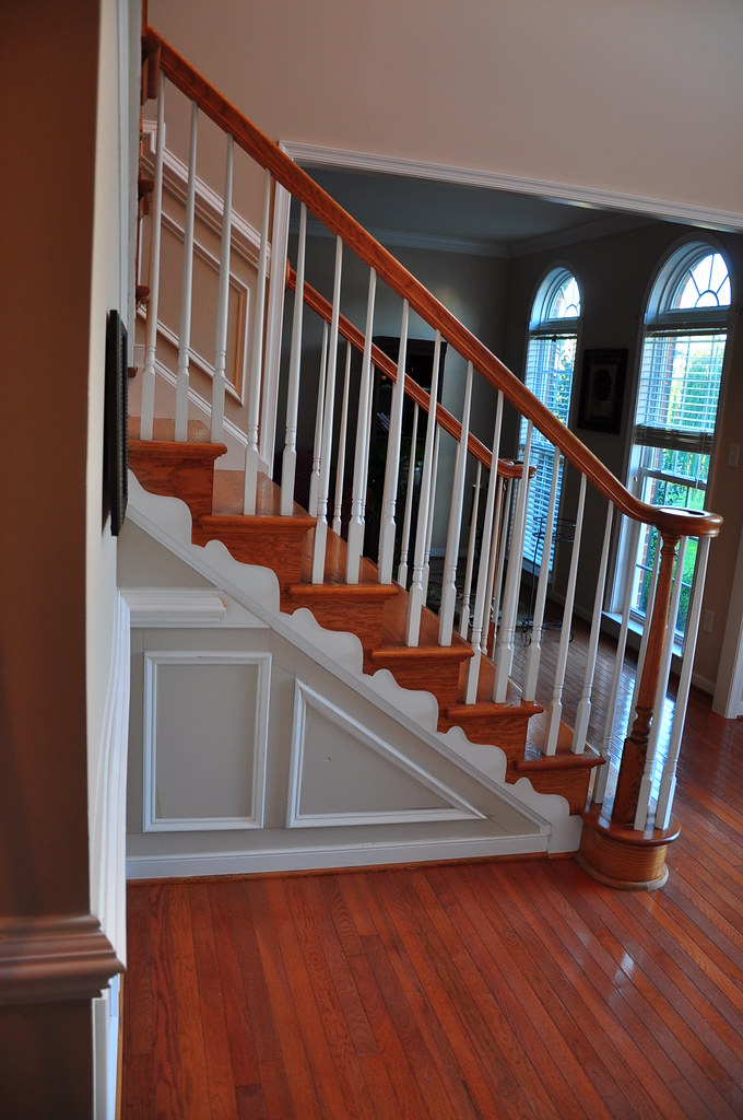 ... Angled Stairs Moldings | By The Finishing Company Richmond Va