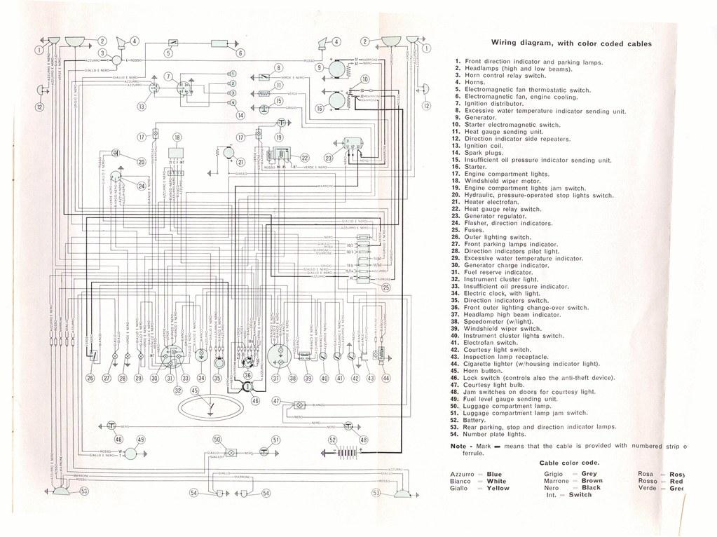 fiat 1500 wiring diagram