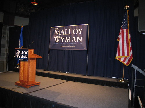 Early on at Malloy headquarters | by WNPR - Connecticut Public Radio