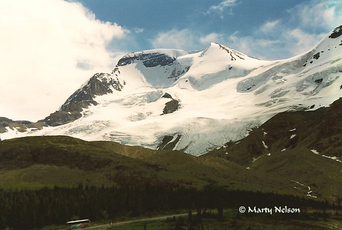 Columbia Icefields Parkway, Alberta, Canada, 1999 No 1 - © Copyright by Marty Nelson. | by Marty Nelson Photography