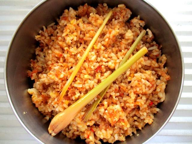 Nasi goreng udang kering 1