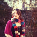 3/365 - I love my pompom scarf.