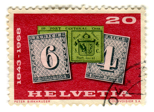 Switzerland Postage Stamp: postal history | by karen horton