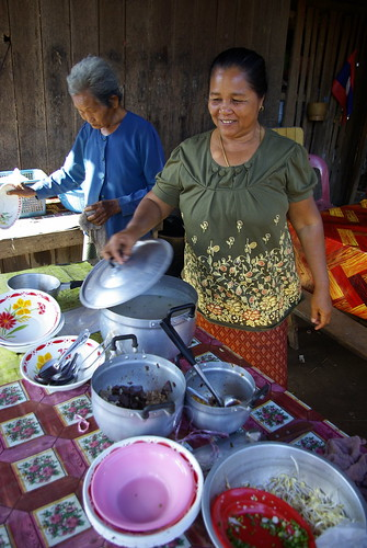 Breakfast. Cycle Touring in Laos | by The Hungry Cyclist