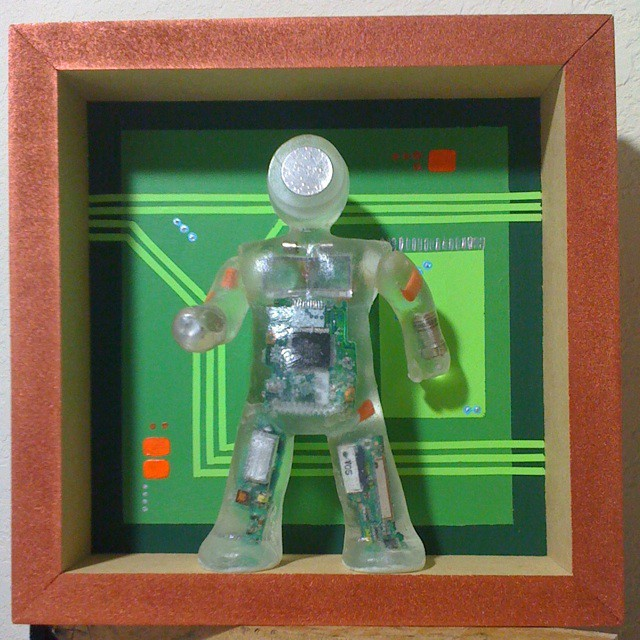 Resin retablo home sweet motherboard a chip to call for Sweet home 3d chip