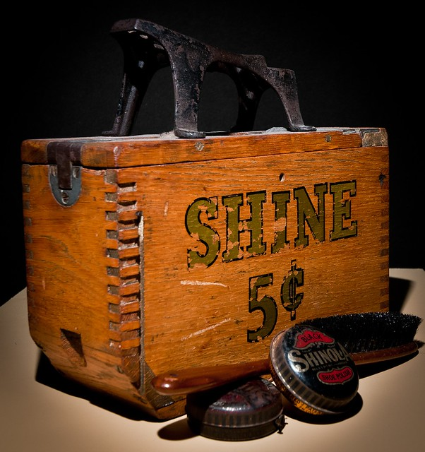 Antique Shoe Shine Kit 2a | Visit and comment on my first ...