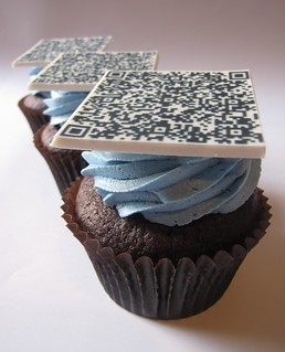 QR Code Cupcakes | by clevercupcakes