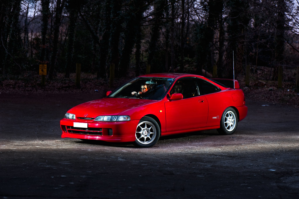 Red Jdm Dc2 Integra Type R A Quick Edit From A Shoot