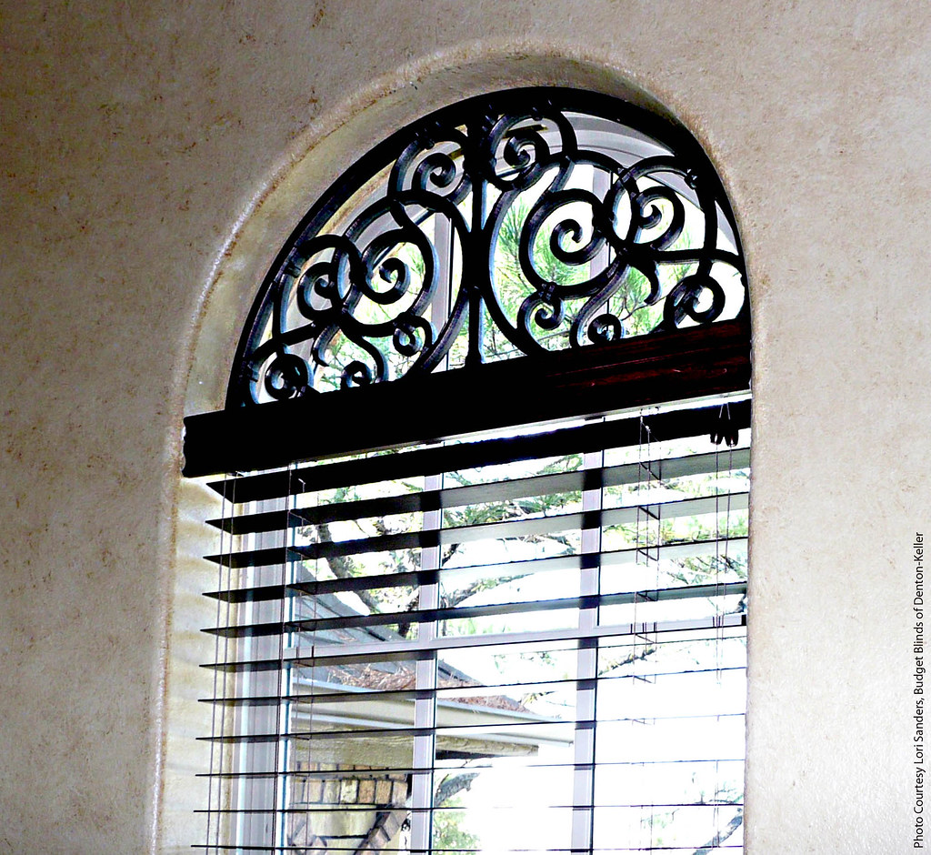 Arched Transom Window Treatment The Decorative Iron