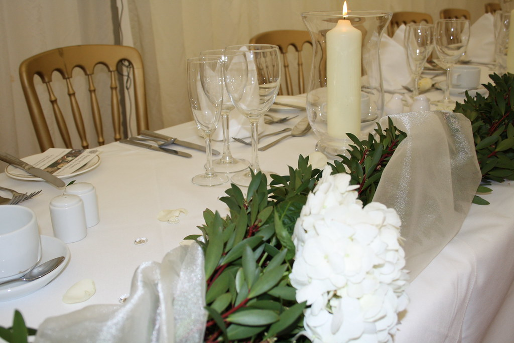 Wedding Garland Table Decorations