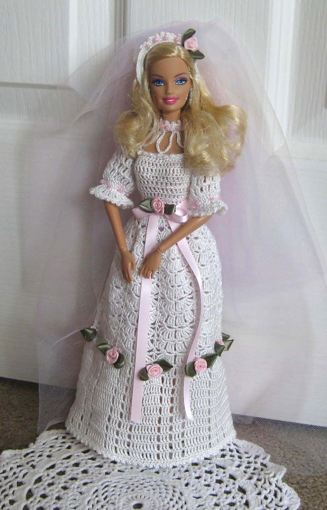 Barbie S Wedding Dress By Wovenflame