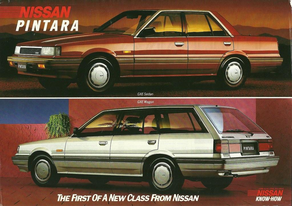 Nissan Pintara 1986 Downmarket Version Of The Skyline Made Flickr