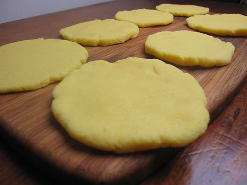uncooked arepas | by SeppySills