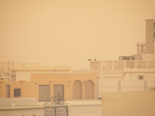 Friday dust storm | by bahraintaxi