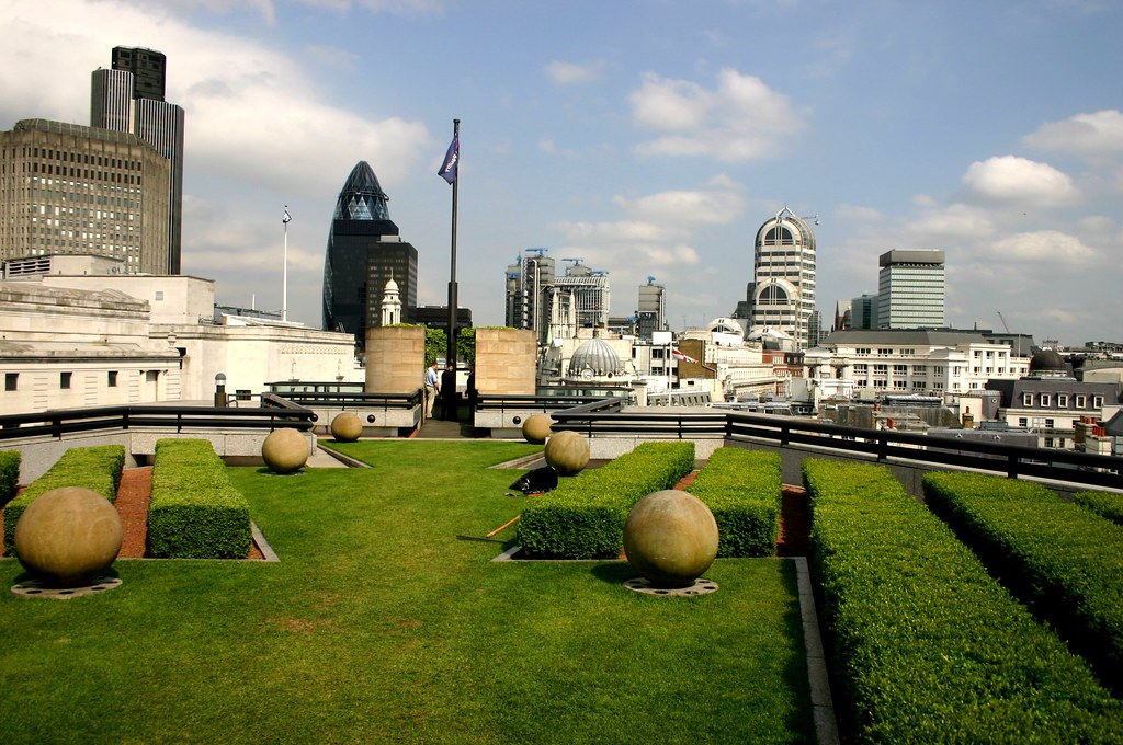 Roof Terrace At Coq D Argent Amp View Over London 169 All