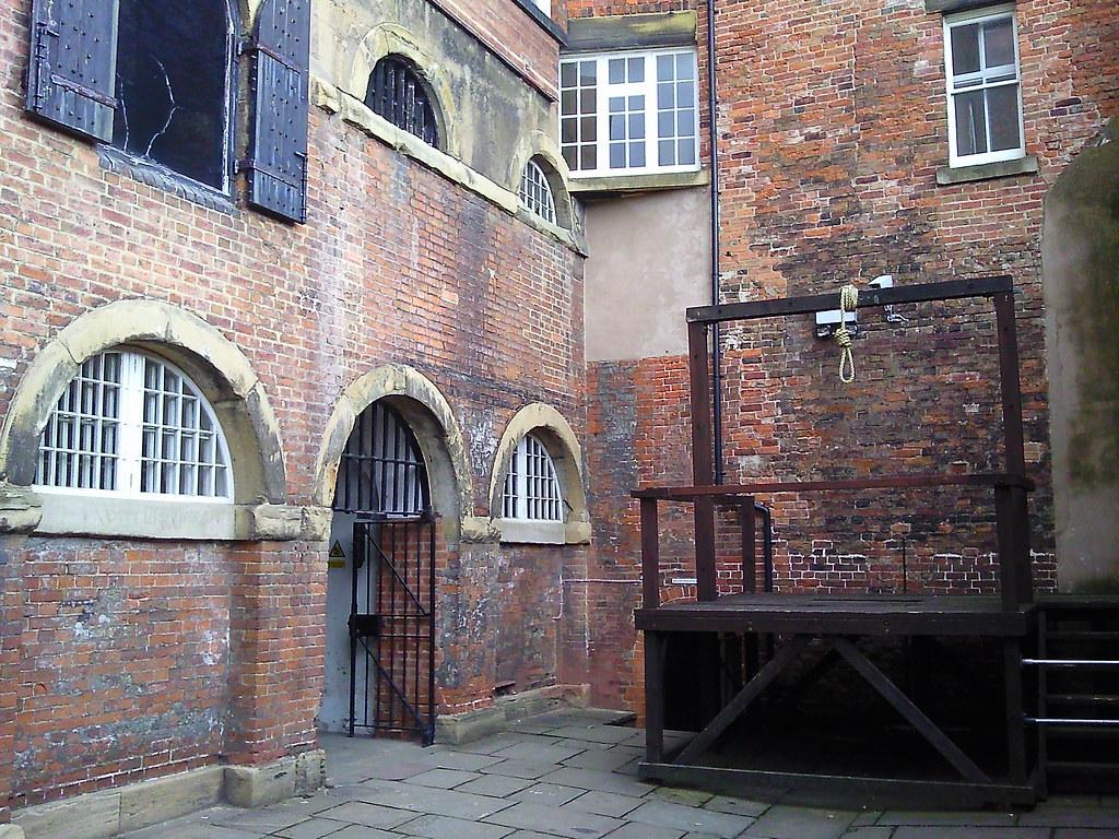 Nottingham Galleries Of Justice Museum Gallows Karen
