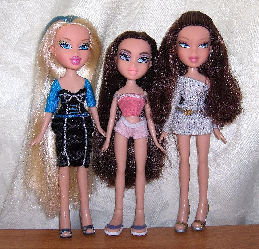 New dolls cloe magic hair grow cut dana salon n Bratz fashion look and style doll