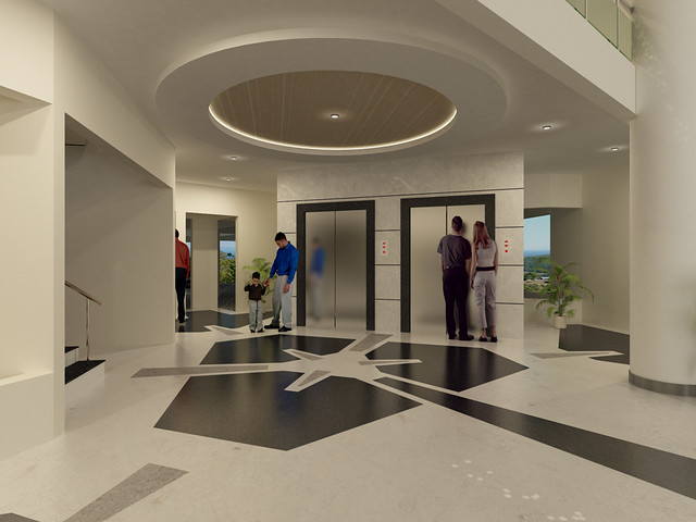 Entrance lobby of Nandan Inspera Wakad Pune | 1) Contact ...