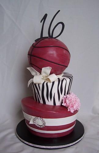 Th Birthday Basketball Cakes