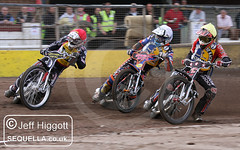 Jerran Hart (r), Lee Smart (w) and Ben Morley (y)