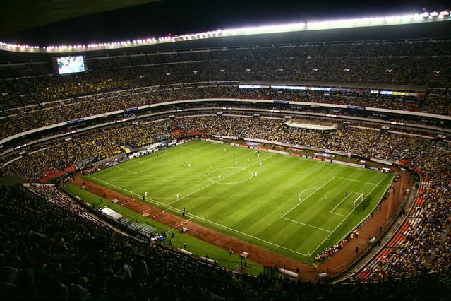 Estadio azteca mexico d f copa libertadores 07 carl for Puerta 1 estadio azteca