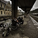 Our Bikes @ Sighişoara Train Station