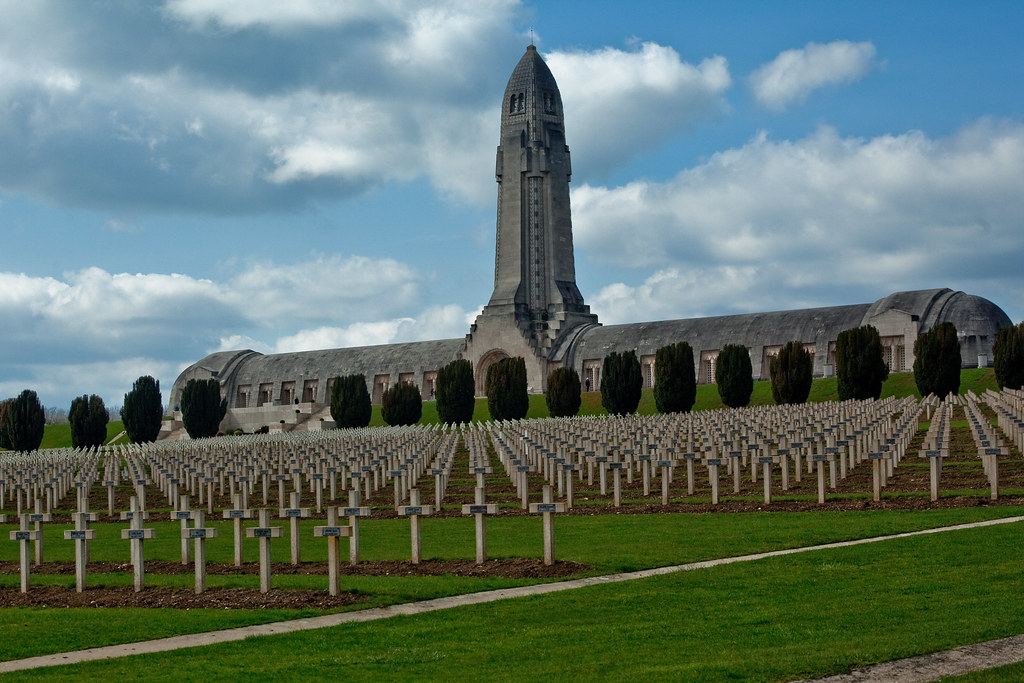 Douaumont Ossuary During The 300 Days Of The Battle Of