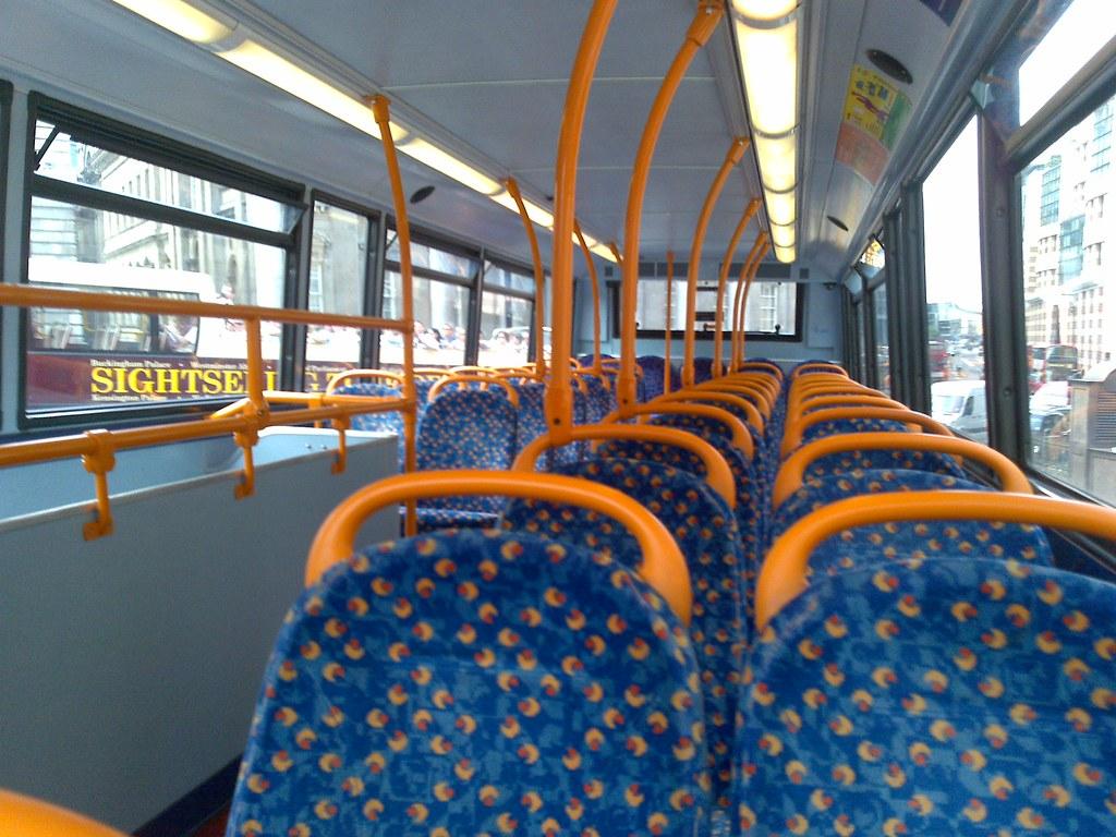 Bus Seats Empty Bus Mark Hillary Flickr