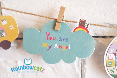 Korean Cute You Are My Angel Message Birthday Card Flickr