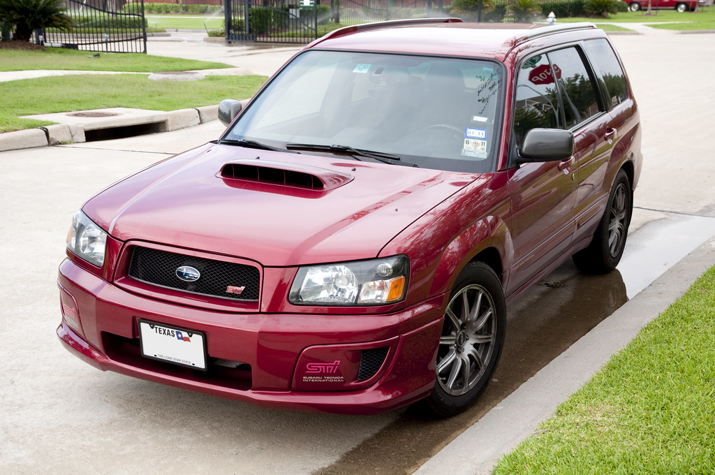 Forester Sti My 2004 Forester Xt Gt Forester Sti Conversio Flickr