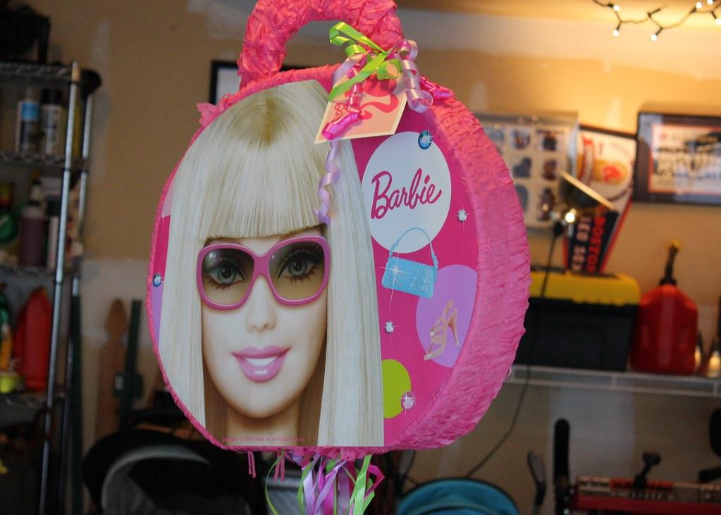 barbie pinata