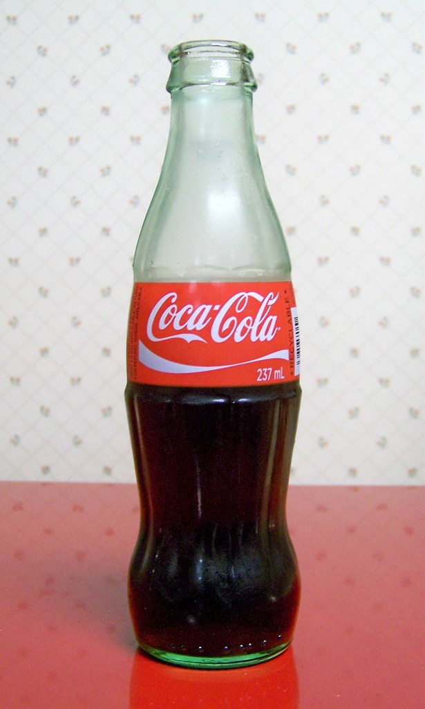8 Oz Bottle Of Coke For A Dime From An Old Fashioned