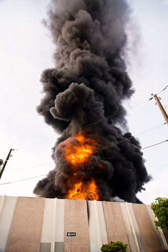 Xcel Power Substation Explosion | by calanan