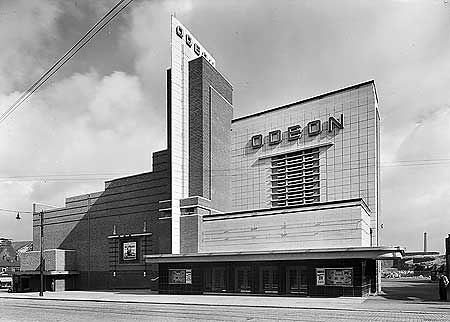 Odeon Cinema Gunsmith Lane Burnley Lancashire Located